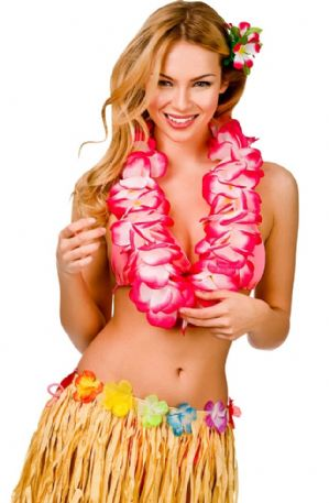 Large 2 Tone Petal Lei (3 colours)